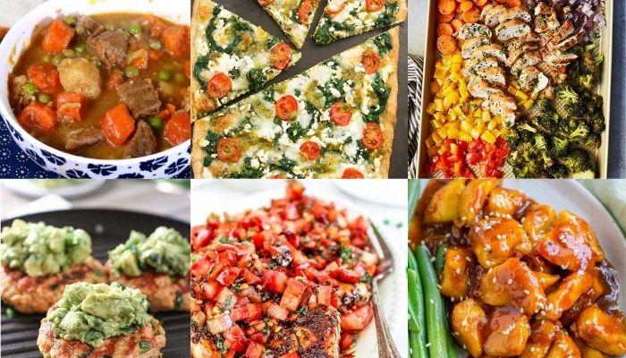 dinner ideas healthy